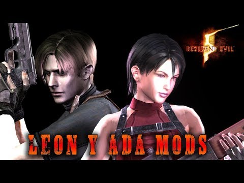 JUGANDO CON LEON Y ADA EN RE5 – RESIDENT EVIL 5 MODS (+ Descarga)
