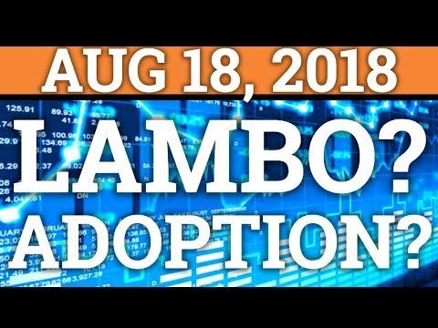 LAMBORGHINI? CRYPTOCURRENCY ADOPTION COMING? ETH = SH*TCOIN? BITCOIN BTC TRADING + PRICE + NEWS 2018