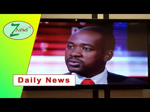 Daily News:   Chamisa shocked by Mnangagwa, ZEC responses