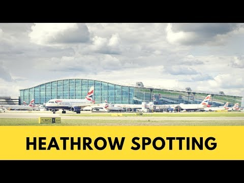 Heathrow Plane Spotting #1 – 747s, A380s, 777s, 787s, A330s, + PIA, EK, SIA