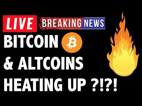 Bitcoin (BTC) & Altcoins Finally Heating Up?! – Crypto Trading & Cryptocurrency Price News