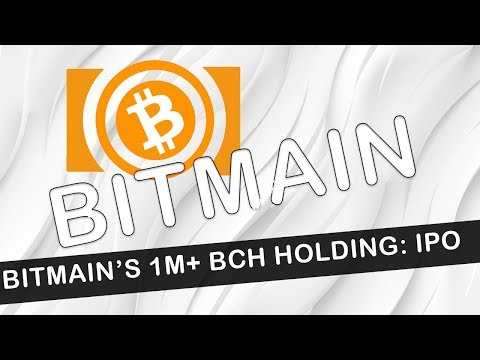 Bitmain Holds 1M Bitcoin Cash: Pump or Dump?