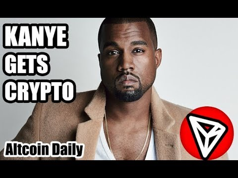 Kanye West Just Got Crypto as Tron (TRX) Bursts Onto Twitter! [Bitcoin, Altcoins Cryptocurrency]