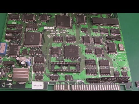 SNK Neo Geo MVS Junk Board Repairs Part 2 (MV-1A Z80 Error From Hell)