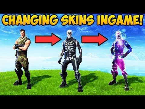 CHANGING SKINS IN-GAME? – Fortnite Funny Fails and WTF Moments! #294