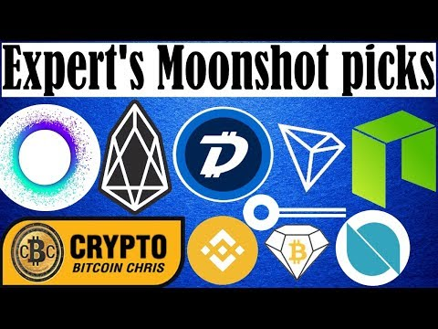 7 Expert's Moonshot Coins – Operation: TRON Storm – Digibyte DGB – Holochain HOT
