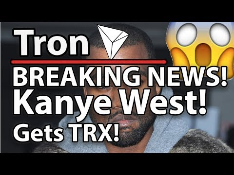 Tron (TRX) Breaking News – Kanye West, Ellen & The Pope Are Becoming TRX HODLERS!