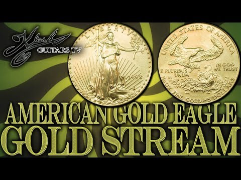 GOLD STREAM #93 1992 AMERICAN GOLD EAGLE COIN 1/10 OZ + BITCOIN!