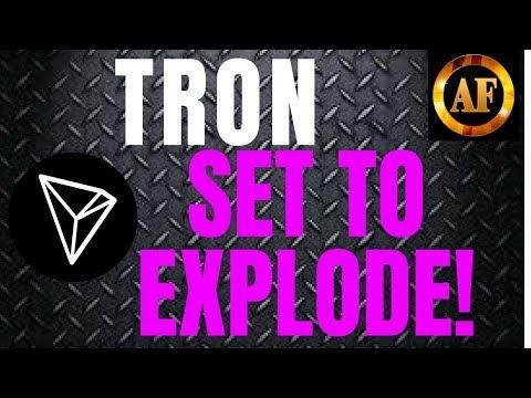 Tron (TRX) – SET TO EXPLODE – Big News For Fourth Quarter!