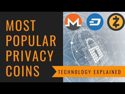 Most Popular Privacy Coins Technology Explained – Monero, Zcash, Dash