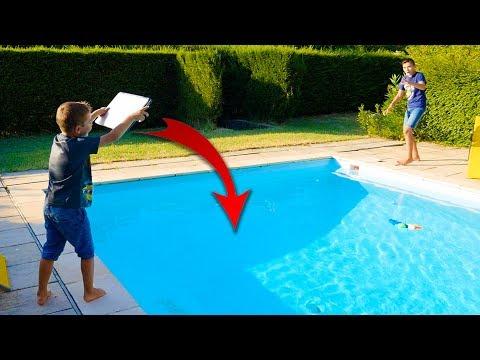 PRANK – Swan jette le Macbook de Néo dans la piscine !
