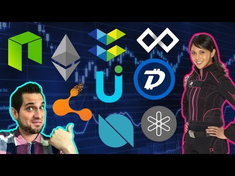 "Pink Ranger Joins Crypto?!? Is DigiByte The REAL Bitcoin? Bitconnect ""Ring Leader"" Arrested!!!  $UUU"