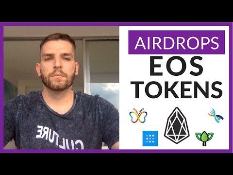 EOS Airdrops So Far | Atidium + EOS Black + Chaince + Challenge DAPP + EDNA (Part 1)