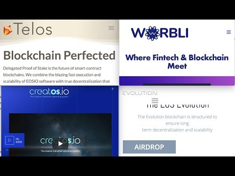 EOS forks/sidechains, airdrops and what they mean for you