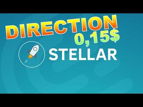 STELLAR 0.15$ LE RETOUR ??? XLM analyse technique crypto monnaie BTC