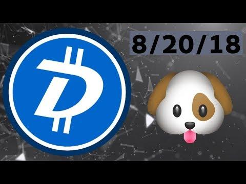 DigiByte(DGB) Price Analysis 8/20/18 (Dog Days)