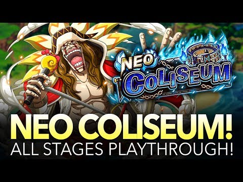 NEO COLISEUM DIAMANTE! All Stages Playthrough! (One Piece Treasure Cruise – Global)