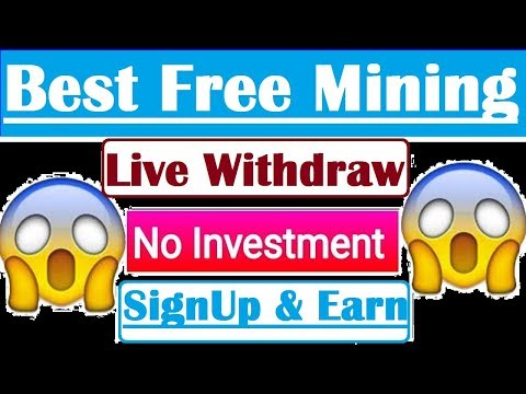 Free Bitcoin Mining with Live Withdraw Proof