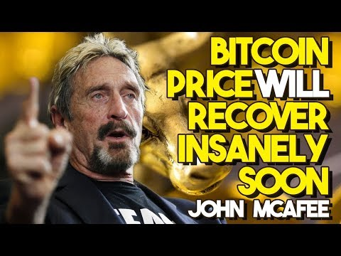 Bitcoin Price WILL RECOVER INSANELY Soon – John McAfee, Bitcoin's Biggest Bull, Isn't BACKING DOWN