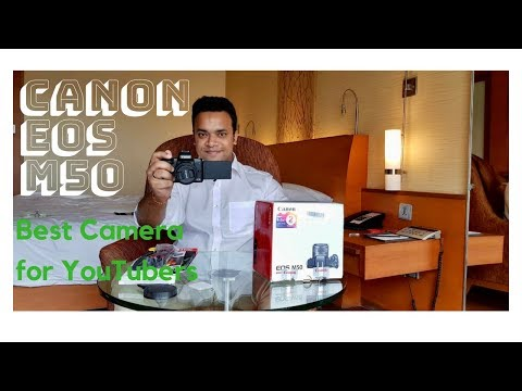 Best camera for YouTubers | Canon EOS M50