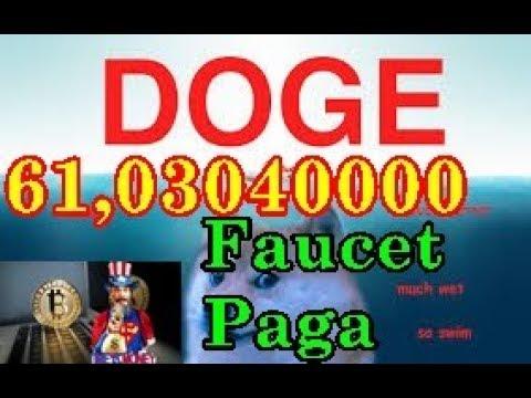Doge-Faucet Paga 61,03040000 Dogecoin Faucet 2018