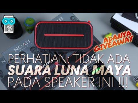Outdoor Speaker SPC Noah Sound-1 Ini Ga Ada Suara Luna Maya-nya! Unboxing / Test Sound / GIVEAWAY