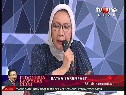 ILC 21 Agustus 2018 Ratna Sarumpaet percaya Rocky Gerung produksi Hoax ada di pemerintahan