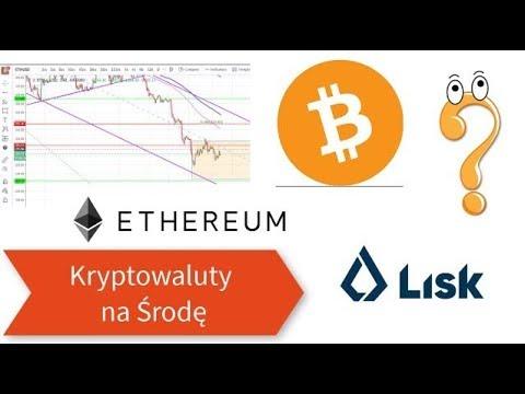 Kryptowaluty na Środę – Bitcoin, Lisk i Ethereum analiza 22.08