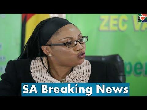 LOOK! ZEC chairperson Priscilla Chigumba Speak Out