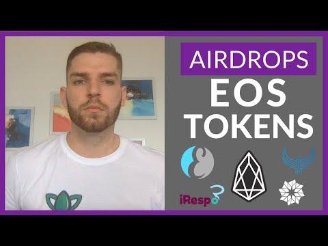 EOS Airdrops So Far | eosDAC + EOX + HORUS + Everipedia + iRespo (Part 2)