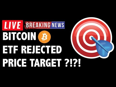 Bitcoin (BTC) ETF Rejected! Next Target?! – Crypto Trading & Cryptocurrency Price News