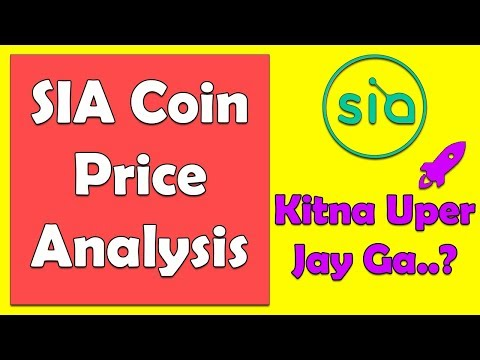 SiaCoin Price Prediction 2018 By Saleem Sons