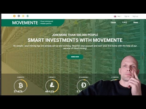 MOVEMENTE BITCOIN CLOUD MINING PLATFORM