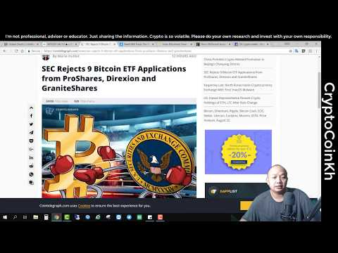 Bitcoin Update 23Aug18, ETFs Rejected, BAKKT, Bitconnect Head Arrested