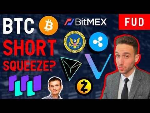 WHAT IS A SHORT SQUEEZE? BTC ETF REJECTION? WaltonChain VeChain Bitcoin Cash Ripple ZCash Tron