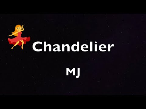 Chandelier Dance, MJ dances to Sia Chandelier and has a bad hair day