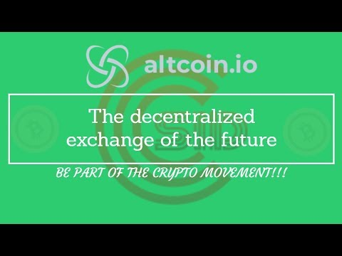 Altcoin.IO – A truly decentralized and secure cryptocurrency exchange powered by Plasma