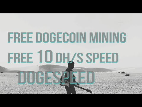 speed 10 DH/s free plan Daily doge earn automining