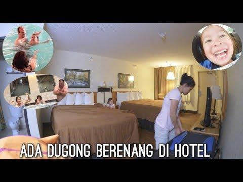 ADA DUGONG BERENANG DI HOTEL | WHO DOESN'T LOVE MADDY?! | LANJUTAN PULANG DARI CAMPING