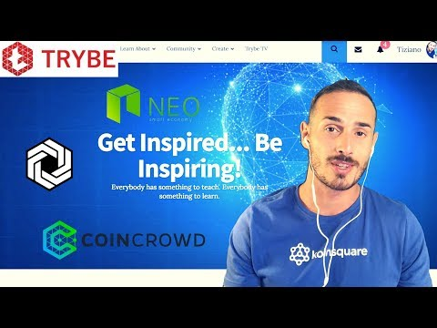 Updates: NEO, Coincrowd, HexxCoin, Trybe