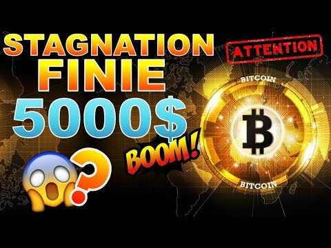 BITCOIN 5000$ range FINI ??? BTC analyse technique crypto monnaie