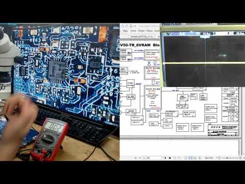 34 – Diagrama y mediciones en placa 4 – Capacitores – Osciloscopio – Rizado / Ripple