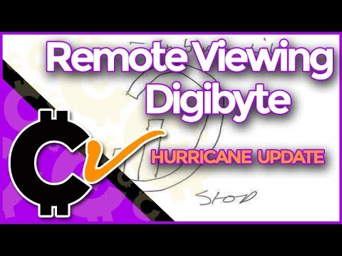 Remote Viewing DigiByte- Plus Hurricane Latest