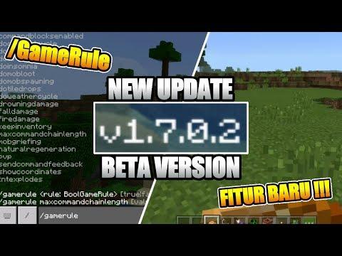 NEW UPDATE !!! MCPE V 1.7.0.2 BETA – ADA TAMBAHAN FITUR BARUNYA !!!