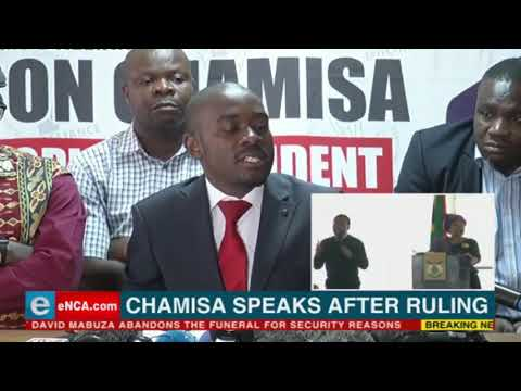 Chamisa says Mnangagwa knows who won the elections. ZEC is not independent.