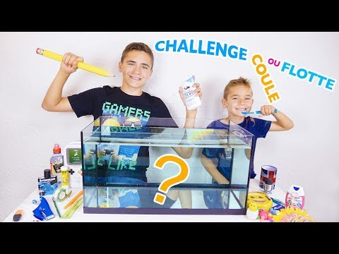 CHALLENGE COULE OU FLOTTE : Fournitures Scolaires / Back to school – Swan VS Néo