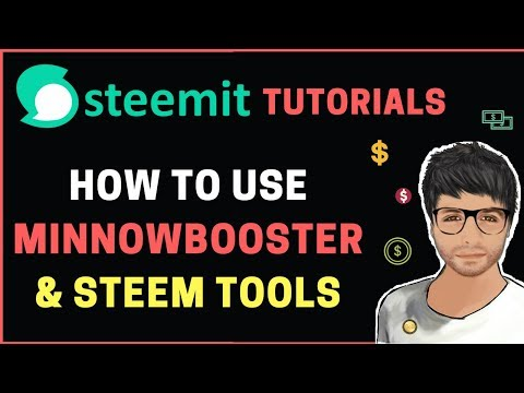 MinnowBooster – Sell Votes, Lease STEEM Power, Delegate – Steemit Tutorial in Hindi #9