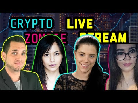 Crypto Zombie | Altcoin Buzz Ladies | Rhode Block | Crypto Candor | Cryptocurrency Chat $BTC $ETH ?