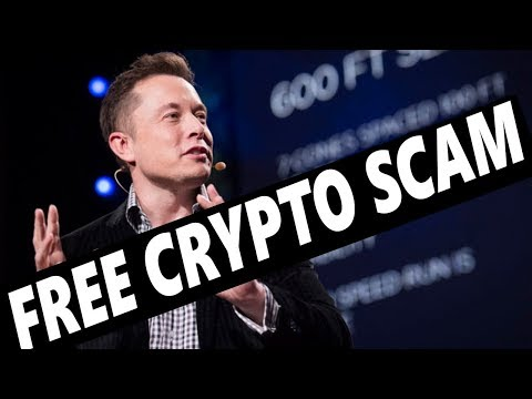 FREE CRYPTO SCAM – ELON MUSK TWITTER – CRYPTOCURRENCY NEWS
