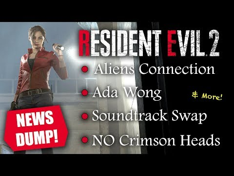 Resident Evil 2 Remake NEW INFO On Ada Wong, Crimson Heads, Defense Weapons, Herbs & More!